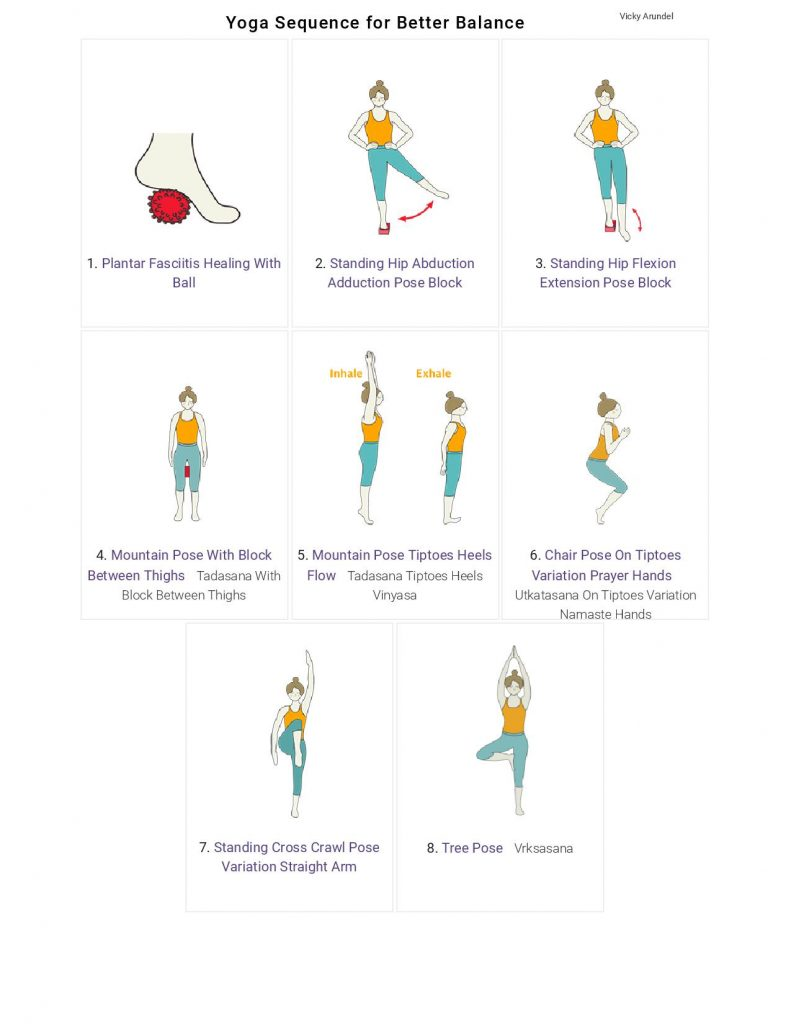 A Yoga Sequence To Improve Balance 3 Essential Tips Surrey Yoga Therapy Vicky Arundel